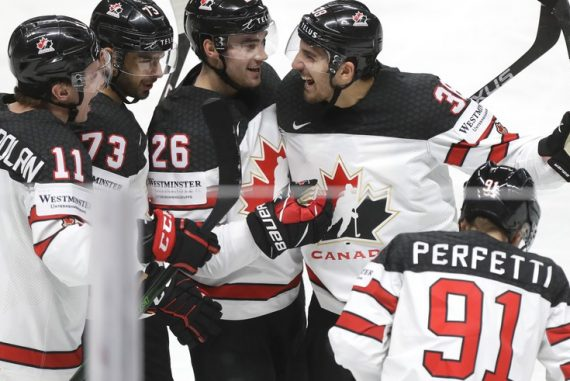 Ice Hockey World Cup: Canada and Sweden remain in quarter-finals