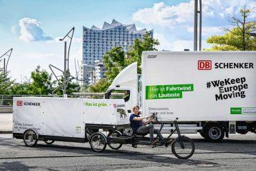 7.5 ton truck will soon make history?  DB Schenker Depends on Huge Cargo E-Bike