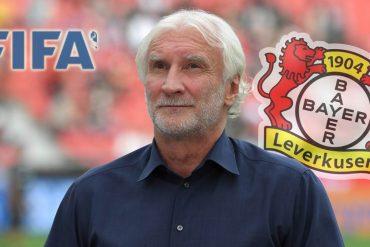 Bayer-Geschäftsführer Rudi Völler zeigte sich verärgert über die Verlängerung der Abstellung der Nationalspieler.