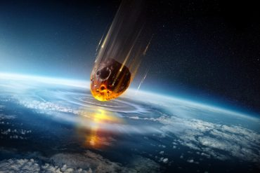 Astronomy How It Crashed in the Solar System