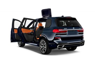 BMW Patent: rear door with roof cutout for e-cars