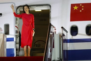 China celebrates return of Huawei manager as victory