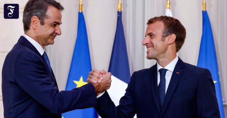 France's alliance with Greece: Macron vs Turkey