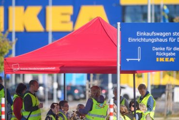 Ikea.  But Verdi is on strike