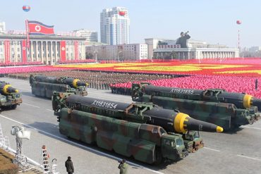 New weapons shown to Kim Jong Un?: North Korea may be planning a big military parade