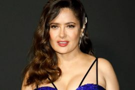 Salma Hayek in sexy swimsuit: Actress wishes herself 55th birthday