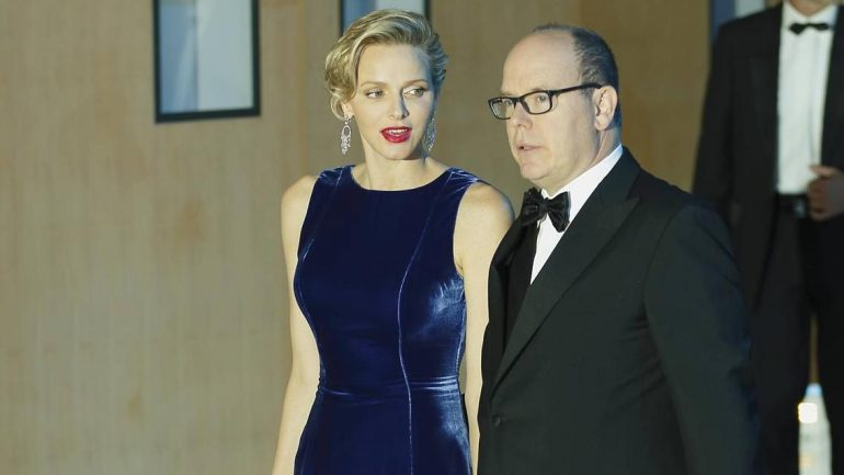 This is what Prince Albert did during the fall of Charlene