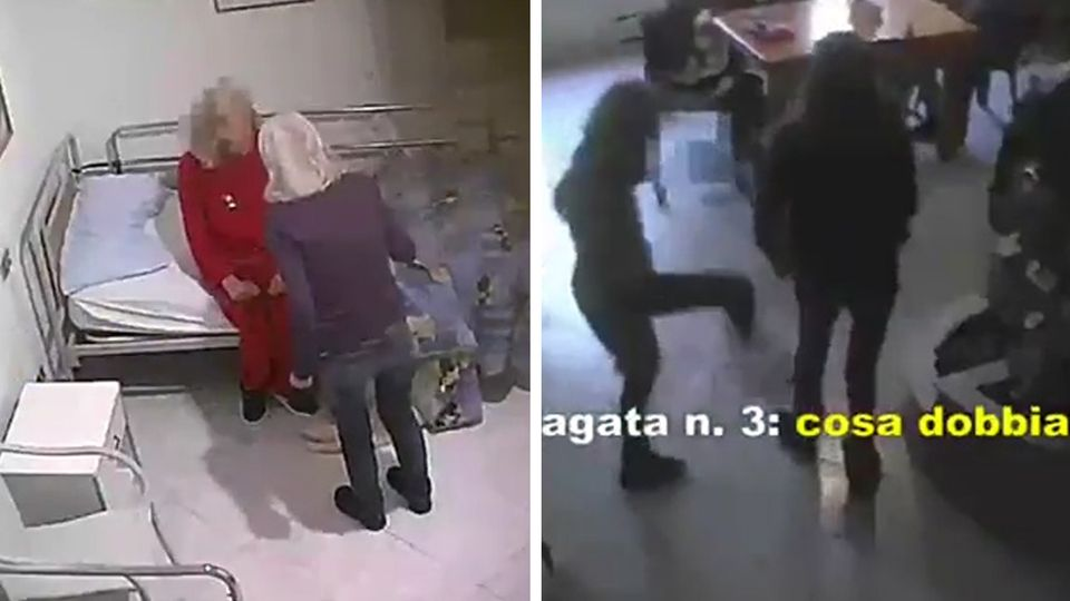 Italy: Residents of an old age home in Palermo were abused.