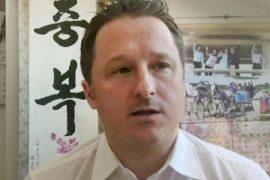 Michael Spavor wurde 2018 in China festgenommen. Jetzt kommt er frei. Foto: Uncredited/AP/dpa Foto: dpa