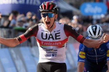 Following in Hinault's footsteps: Pogacar wins Tour of Lombre