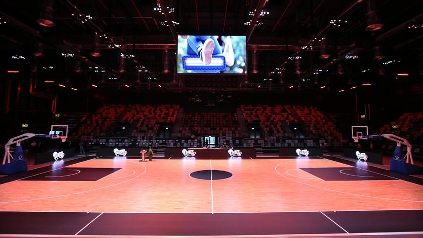 Exclusive insight: What the Nuremberg Falcons' new home looks like