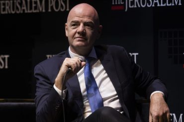 FIFA boss Infantino proposes World Cup 2030 in Israel and neighboring countries - soccer