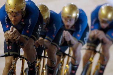 Golden wheels stolen from Italians