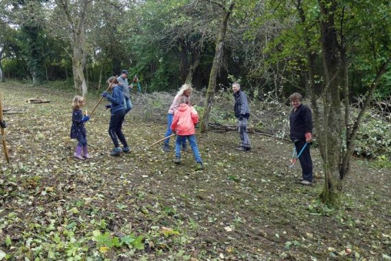 Orchard meadow now provides a place for biodiversity - Edelsheim