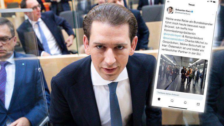 Twitter mess: Kurz again chancellor... - Politics Abroad