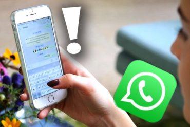 WhatsApp understands: Annoying Messenger problem fixed