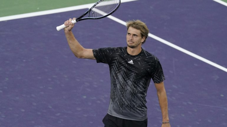 """Zverev at Indian Wells: Once utterly defeated the """"Big Four"""""""